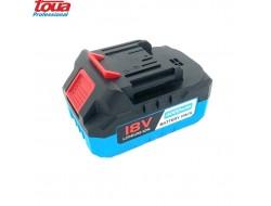 Профессиональный аккумулятор для инструментов Toua 18V 4000 mAh