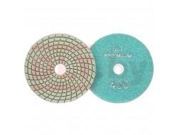 Алмазный гибкий круг (черепашка) ПРЕМИУМ класса Ø100мм, #400