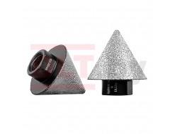 Конусная алмазная фреза CERAMIC PRO cone 2-38мм, DLT&9plitok