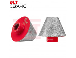 Алмазная конусная фреза DLT CERAMIC CONE PRO, 20-48мм