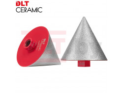 Алмазная конусная фреза DLT CERAMIC CONE PRO, 3-75мм
