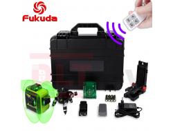 Лазерный уровень Fukuda MW-93T-3-3GX комплект Professional