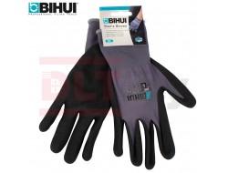 Перчатки строительные BIHUI с латексным покрытием, размер 10(XL)