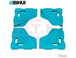 Протектор угла плитки BIHUI (защитный уголок для крупноформата), 4шт, 10мм
