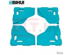 Протектор угла плитки BIHUI (защитный уголок для крупноформата), 4шт, 6мм