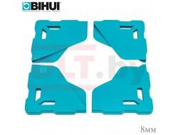 Протектор угла плитки BIHUI (защитный уголок для крупноформата), 4шт, 8мм