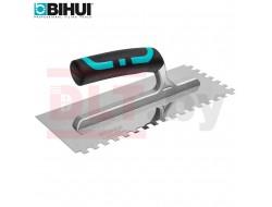 Зубчатый  шпатель (гребенка) из нерж.сталии BIHUI (Зуб 8мм)